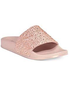 9e1e68d65 INC International Concepts Women's Peymin Pool Slide Sandals, Only at  Macy's   macys.com