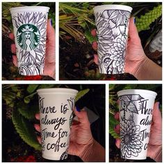 Cup art. Not by me.