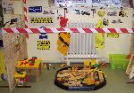 Construction Site role-play classroom displays photo gallery - SparkleBox Construction Area Eyfs, Construction Area Early Years, Baby Room Activities, Eyfs Activities, Block Area, Block Center, Early Years Displays, People Who Help Us, Play Corner