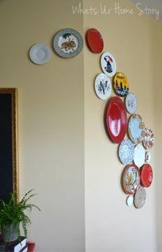 pratos na parede                                                                                                                                                      Mais
