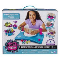NOT THIS  ELLA CLAIRE'S GIFT CARD (NOT YET PURCHASED) Cool Maker Pottery Studio Kit