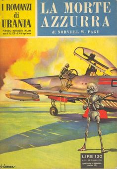 33 LA MORTE AZZURRA 30/1/1954 BUT WITHOUT HORNS Copertina di C. Caesar NORVELL W. PAGE