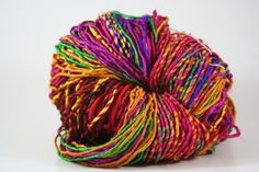 Recycled Resolution Sari Silk Yarn 074