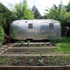 back yard parking airstream - Google Search