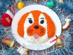 Рецепт новогоднего салата «Собака»