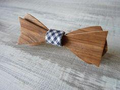 Noeud papillon en bois de Noyer, Wooden bowties !!!