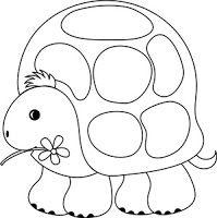 Menta Más Chocolate - RECURSOS y ACTIVIDADES PARA EDUCACIÓN INFANTIL: Dibujos para colorear: TORTUGAS