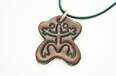 Puerto Rico Taino Indian Coqui Frog Leather by TheFlamboyanTree, $12.75
