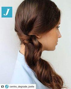 #Repost @centro_degrade_joelle with @repostapp ・・・ Semplicità e l'originalità del Degradé Joelle. #cdj #degradejoelle #tagliopuntearia #degradé #igers #musthave #hair #hairstyle #haircolour #longhair #ootd #hairfashion #madeinitaly #wellastudionyc