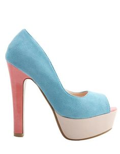 Pastel pastel pastel shoes | More pastel inspiration here: http://mylusciouslife.com/prettiness-luscious-pastel-colours/
