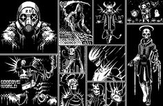 Pixel Life, 1 Pixel, Ghost Games, Arte 8 Bits, Cool Pixel Art, Pixel Characters, Board Game Design, Isometric Art, Pixel Art Games