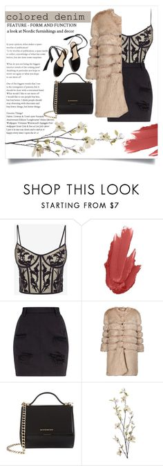 """While he's having a smoke, and she's taking a drag.."" by its-siobhan-again ❤ liked on Polyvore featuring Alexander McQueen, Maybelline, AINEA, Givenchy and Pier 1 Imports"