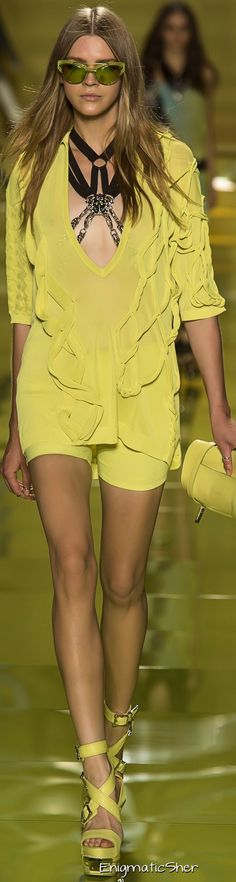 Versace Spring Summer 2014 Ready-To-Wear