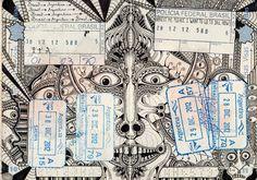 passaporti rivisitati da Léonard Combier