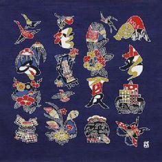 綿の風呂敷|芹沢けい介|文字入四季文55cm Book Illustration, Illustrations, Logo Design, Typography, Snoopy, Japanese, Bird, Fictional Characters, Inspiration