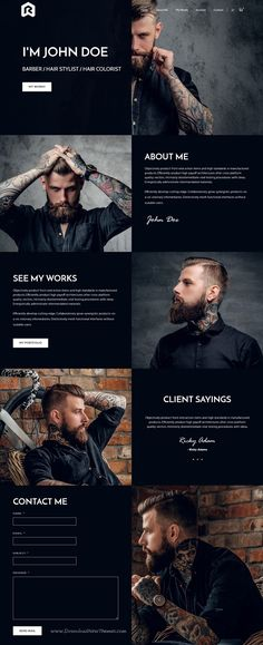Rigel is clean and modern design multipurpose responsive #WordPress theme for stunning #barbershop #salon website with 18+ niche homepage layouts download now > https://themeforest.net/item/rigel-multipurpose-responsive-wordpress-theme/19758378?ref=Datasata