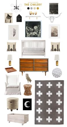 the owlery- literally obsessing over every single one of these nusery boards. She gets me.