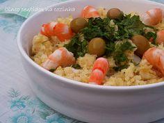 Cinco sentidos na cozinha: Bacalhau à Brás com camarão