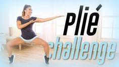 8 min Plie Squat Challenge! | Thigh Workout