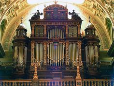 Organ of the St Stephen's Basilica #Budapest #Hungary