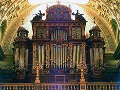 Organ of the St Stephen's Basilica #Budapest #Hungary