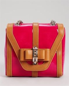 Christian Louboutin -The Sweet Charity Patent Leather Shoulder Bag