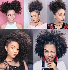 Transitioning Series More Natural Hair Transitioning Styles 3c Curly Hair, Coily Hair, Curly Hair Styles, Natural Hair Styles, Bob Hair, Natural Hair Transitioning, Long Natural Hair, Natural Curls, Cabello Afro Natural