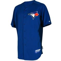 Jose Bautista Toronto Blue Jays Majestic Authentic Cool Base On Field Batting Practice Jersey Mlb Spring Training, Baseball Equipment, Toronto Blue Jays, Baseball Jerseys, Chef Jackets, Men Casual, Sports, Mens Tops, Royal Navy