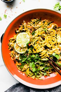 Spice things up with this spiralized vegetable stir fry recipe! The stir fry is cooked in a cashew satay sauce for a simple, delicious, one pan dinner that takes just 20 minutes to make. Paleo and vegan options. Whole 30 recipe option. Easy Vegetable Stir Fry, Vegetable Recipes, Vegetarian Recipes, Healthy Recipes, Vegetarian Dinners, Fast Recipes, Vegan Meals, Healthy Meals, Keto Recipes