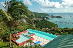 Villa WV MGO in St Barts #travel #wimco #pool #view