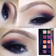 Glamorous Smokey Eye Tutorial using the Anastasia Beverly Hills Catwalk Palette #amazing #makeup