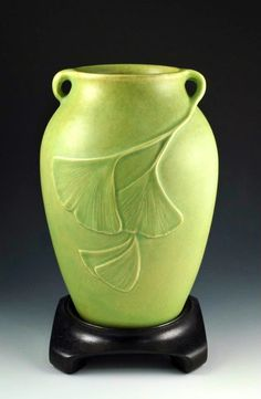 CAPCA   JW Art Pottery   Jacquie Walton   Ginkgos. The Contemporary Art Pottery Collectors Association is dedicated to the collection and preservation of pottery in the Arts and Crafts genre. On of their goals is to expand the public's awareness of Arts and Crafts pottery, not only as an art form, but as a historical reflection of American culture.