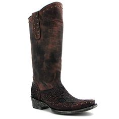 "Old Gringo 13"" Eponnie Boot in Chocolate at Maverick Western Wear"