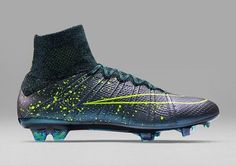43c68667945 Neon Dreams  Nike Roll Out New Paint-Splattered  Electro Flare  Boot Pack