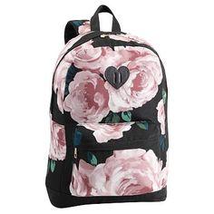 The Emily & Meritt Bed Of Roses Backpack #pbteen