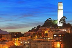 A welcoming beacon to San Francisco visitors and residents since 1933. #coittower #joyholiday
