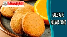 ▷ Galletas de naranja y coco - Recetas deliciosas de galletas Pan Dulce, Cornbread, Food And Drink, Cookies, Ethnic Recipes, Empanada, Robot, Outfits, Condensed Milk Cookies