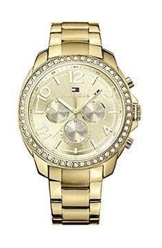 Tommy Hilfiger Damen-Armbanduhr Serena Analog Quarz Edelstahl beschichtet 1781465 - http://uhr.haus/tommy-hilfiger/tommy-hilfiger-damen-armbanduhr-serena-analog