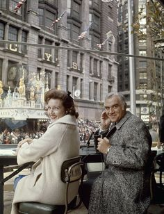 vintage everyday: Fabulous Vintage Photos of Betty White Hosting the Macy's Thanksgiving Day Parade from the 1960s