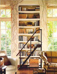 Cute little bookshelf area