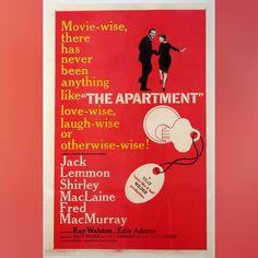 Apartment, The (1960) - Anti-UV Glass & Single Mount