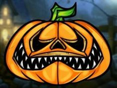 How to Draw a Halloween Pumpkin, Step by Step, Halloween, Seasonal, FREE Online Drawing Tutorial, Added by Dawn, September 4, 2013, 6:01:19 pm by Crysta Nyccole Kathleen Beavers