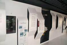 Jean Prouvé constructeur | MORGAN FORTEMS Exhibition Display, Exhibition Space, Wayfinding Signage, Signage Design, Display Design, Booth Design, Exibition Design, Office Wall Design, Create Icon