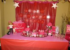 "American Girl Doll / Birthday ""American Girl Slumber Party"" | Catch My Party"