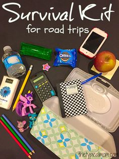 What to bring with you to keep your kids busy and happy on road trips. #oreomultipack #sponsored