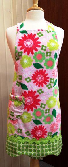 Cupcake apron, Cotton Ginny's pattern