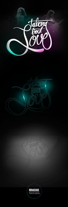 #Lettering #TalkingAboutLove #TrampledUnderFoot #DigitalArt