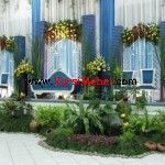 Set+Kursi+Pelaminan+Duco+Putih+Model+Modern Wedding Stage Design, Budgeting, Outdoor Structures, Modern, Plants, Furniture, Wallpapers, Weddings, Decoration