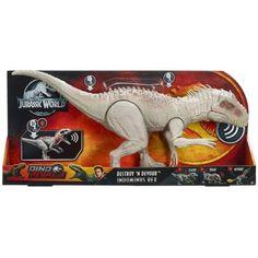Superb Jurassic World Destroy 'N Devour Indominus Rex Now at Smyths Toys UK. Shop for Jurassic World At Great Prices. Jurassic World Dinosaur Toys, Jurassic World Indominus Rex, Jurassic World Movie, Jurassic Park Toys, Dinosaur Gifts, Dinosaur Party, T Rex Toys, Dino Toys, Mattel Shop