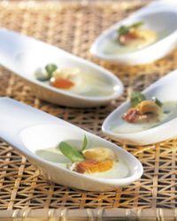 Mantelschelpnoten met waterkerscoulis - Colruyt Culinair !